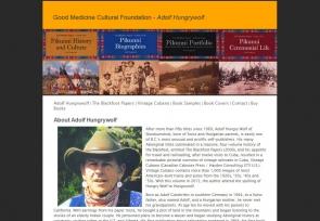 Adolf Hungrywolf – The Blackfoot Papers and Vintage Cubano